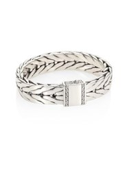 John Hardy Classic Chain Collection Sterling Silver Bracelet No Color