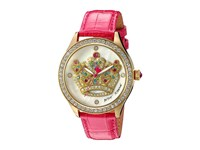 Betsey Johnson Bj00517 37 Crystal Crown Pink Gold Watches