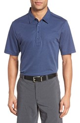 Travis Mathew Men's The Ten Year Polo Dark Blue