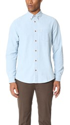 Ben Sherman Chambray Shirt Sky Blue
