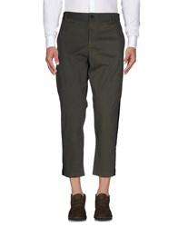 Mnml Couture Casual Pants Military Green