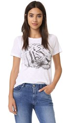Chaser Tiger Sketch Tee White