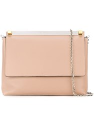 Manurina Envelope Clutch Pink And Purple