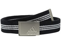 Adidas 3 Stripes Webbing Belt Black Mid Grey Men's Belts