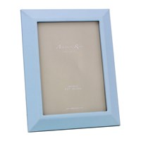 Addison Ross Faux Leather Photo Frame 5X7 Blue