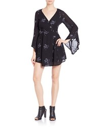 Free People Embroidered Fit And Flare Dress