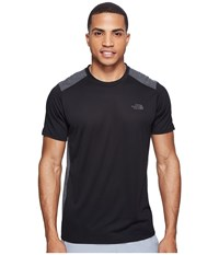 The North Face Versitas Short Sleeve Crew Tnf Black Men's Clothing