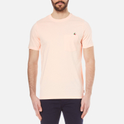 Paul Smith Ps By Men's Crew Neck Pocket T Shirt Pink