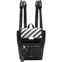 Off White Black Diag Backpack