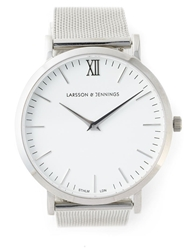 Larsson And Jennings Metal Chain Watch Metallic