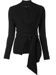 Urban Zen Wrap Blazer Black