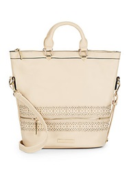 Catherine Malandrino Savannah Faux Leather Tote Tan