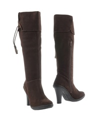 Hollywood Milano Boots Dark Brown