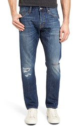 Jean Shop Men's Mick Slim Straight Leg Selvedge Jeans