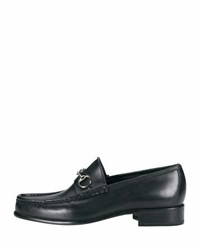 Gucci Classic Leather Horsebit Loafer Black