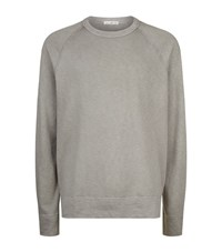 James Perse Vintage Raglan Sweatshirt Male Beige