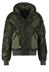 Alpha Industries Hunter Winter Jacket Dark Green
