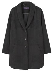 Mango Violeta By Classic Coat Black