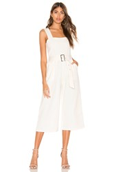 Line And Dot Victory Jumpsuit White