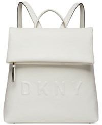 Dkny Tilly Medium Backpack Created For Macy's White