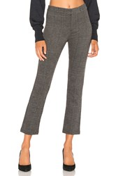 David Lerner Trouser Cigarette Pant Charcoal
