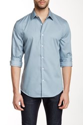 Perry Ellis Long Sleeve Regular Fit Shirt Gray