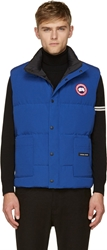Canada Goose Blue Puffer Freestyle Vest