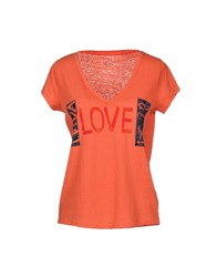 Leon And Harper T Shirts Orange