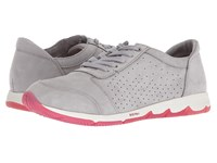 Hush Puppies Cesky Perf Oxford Frost Grey Nubuck Lace Up Casual Shoes Gray