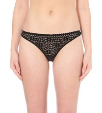 Princesse Tam Tam Monica Lace Hipster Briefs Black