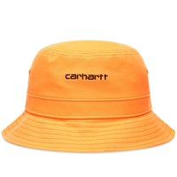 Carhartt Wip Script Bucket Hat Orange