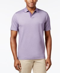 Tasso Elba Men's Polo Only At Macy's Purple Dawn