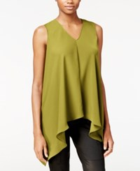 Rachel Roy Sleeveless Asymmetrical Top Only At Macy's Yellow Amber