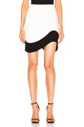 Thierry Mugler Double Sable Skirt In White