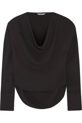Maiyet Draped Silk Crepe Blouse