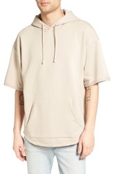 The Rail Men's Zip Detail Short Sleeve Hoodie