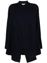 Givenchy Waterfall Front Cardigan Black