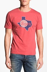 Red Jacket Men's 'Texas Rangers' T Shirt