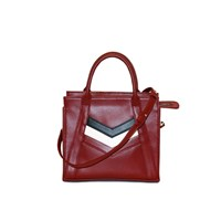 Mei Vintage The Abby Tote Ruby Mini Red