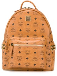 Mcm 'Stark' Backpack Brown