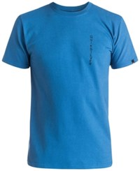 Quiksilver Men's Graphic Print T Shirt Star Blue