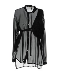 Isabel Benenato Shirts Black