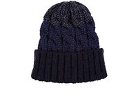 Ca4la Men's Ombre Wool Blend Beanie Navy