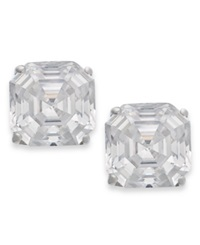 Arabella 14K Gold Earrings Swarovski Zirconia Stud Earrings 6Mm