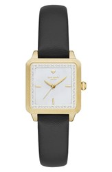 Kate Spade Women's New York 'Washington' Square Leather Strap Watch 25Mm