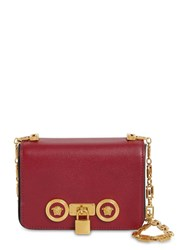 Versace Mini Icon Leather Bag Sunset Red