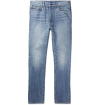 The Row Bryan Selvedge Denim Jeans Blue