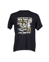 Timberland Topwear T Shirts Men Dark Blue