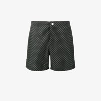 Riz Boardshorts Buckler Short Polka Dot Swim Shorts Black