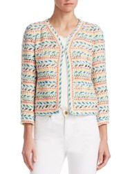 Edward Achour Short Multi Color Jacket